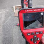 Localisation précise de la caméra d'inspection